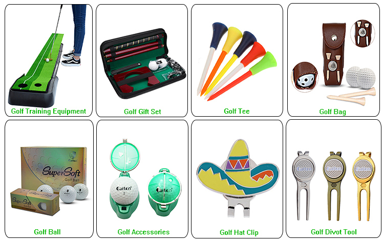 Customized logo printed wood colorful morning glory 6Pcs/box rubber plastic golf tee