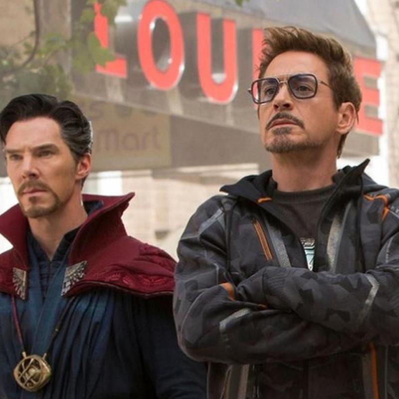 Iron Man Matsuda TONY Strak Sunglasses Color Lens Men Retro Personalized glasses