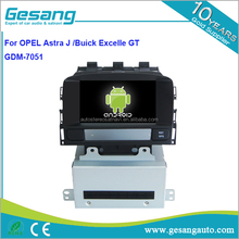 Gesang HD tela de toque DVD player Do Carro para Astra J/Buick Excelle <span class=keywords><strong>GT</strong></span> com WiFi 3G