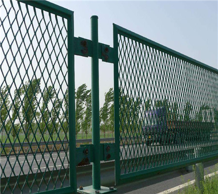 exterior wall high quality expanded metal wire mesh fence