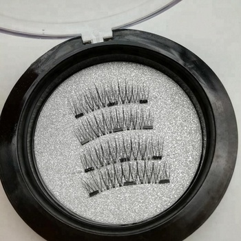 2018 Trend Mink Hair, Horse Hair, Synthetic Hair 3 magnets 24P-3 magnetic eyelash