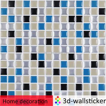 Decoration Items Self Stick Backsplash Waterproof Spanish Mosaic Tile