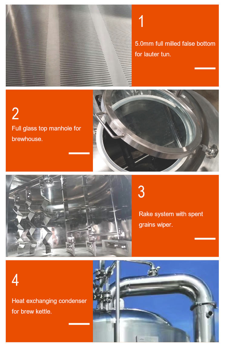 Beer brewery equipment conical fermenter 300l 500l good polishing beer tank
