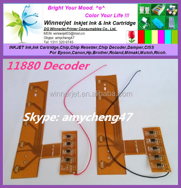 Chip Decoder For Epson 11880