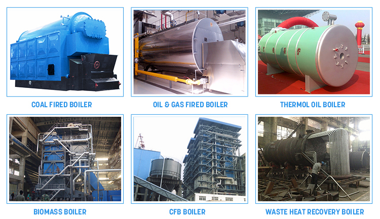 Steam Boiler Industrial Reciprocation Grate coal fired steam boilers for textile industry Heating Systems