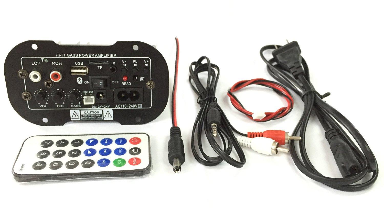 Buy Qianson Dc 12v 24v 110v 220v Ac 6 Inch Subwoofer Decoder Board Wiring From U