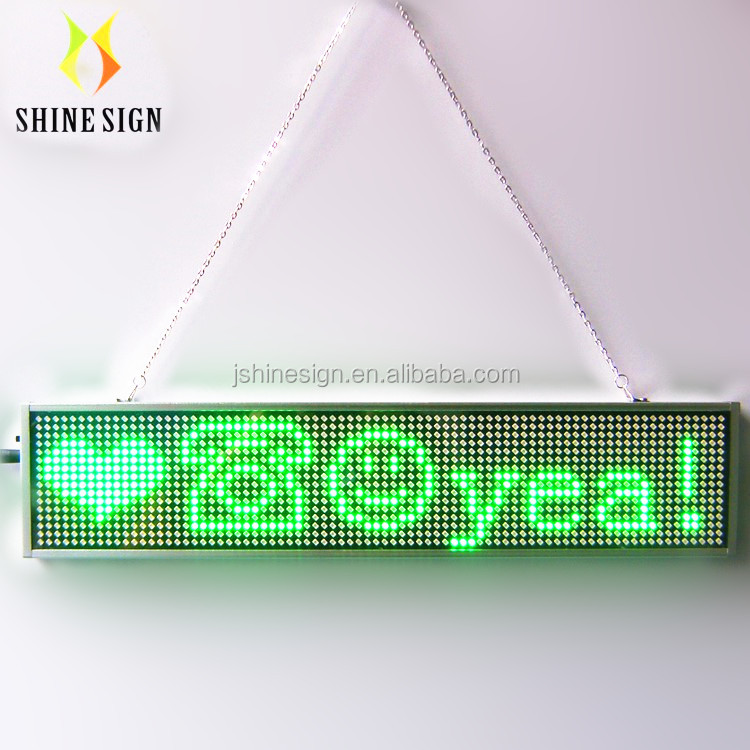 Bluetooth Programmabile P5 ultra sottile led scrolling message mini display