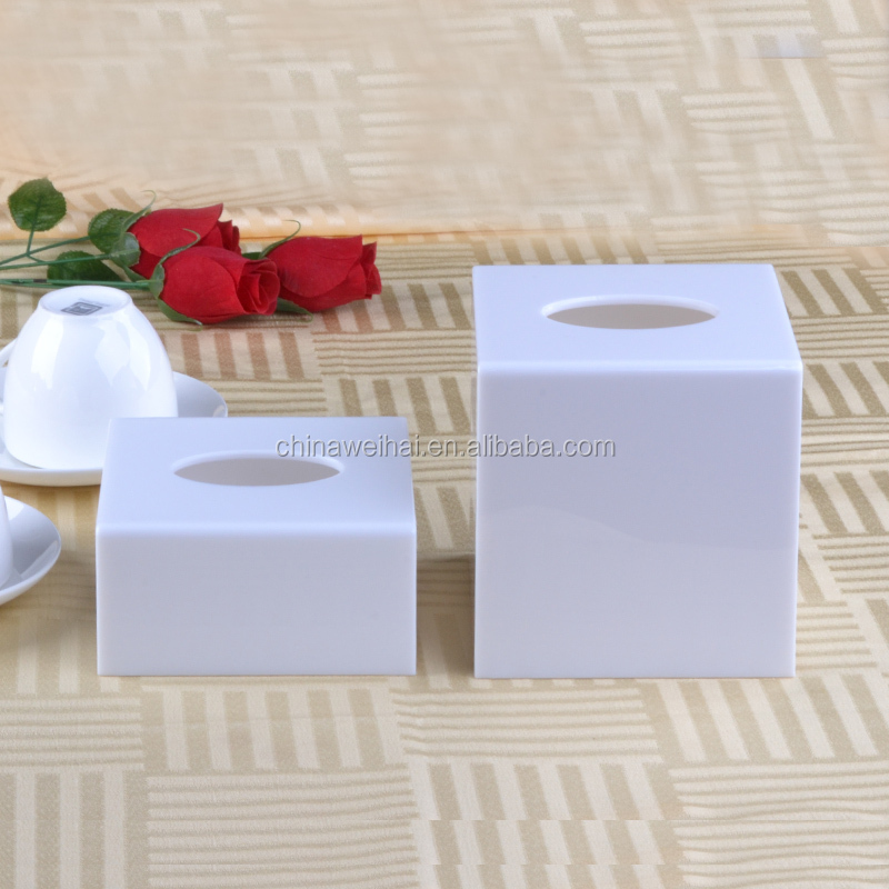 Cheap White Acrylic Napkin Dispenser