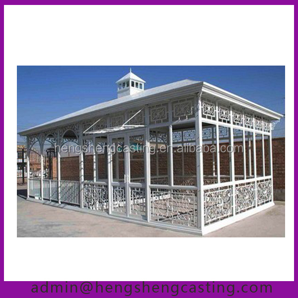 China Supplier Victorian Conservatory Prefabricated