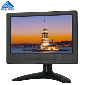 Mini Size 7 Inch TFT LED CCTV Monitor Widescreen with VGA HDMIED Connection VESA Wall Mount