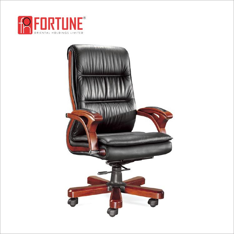 Italian Leather Executive Office Chair