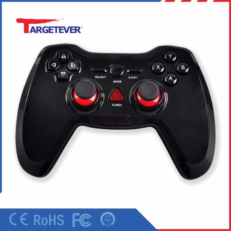 Factory price game controller for pc 2.4g wireless usb gamepad for pc Game Handle Electronic Controller