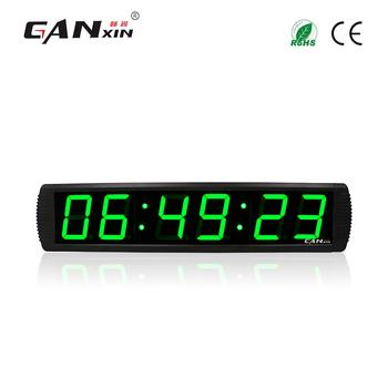 Ganxin 4 6 Digit Grünen Führte Große Digitale Wanduhr Controller