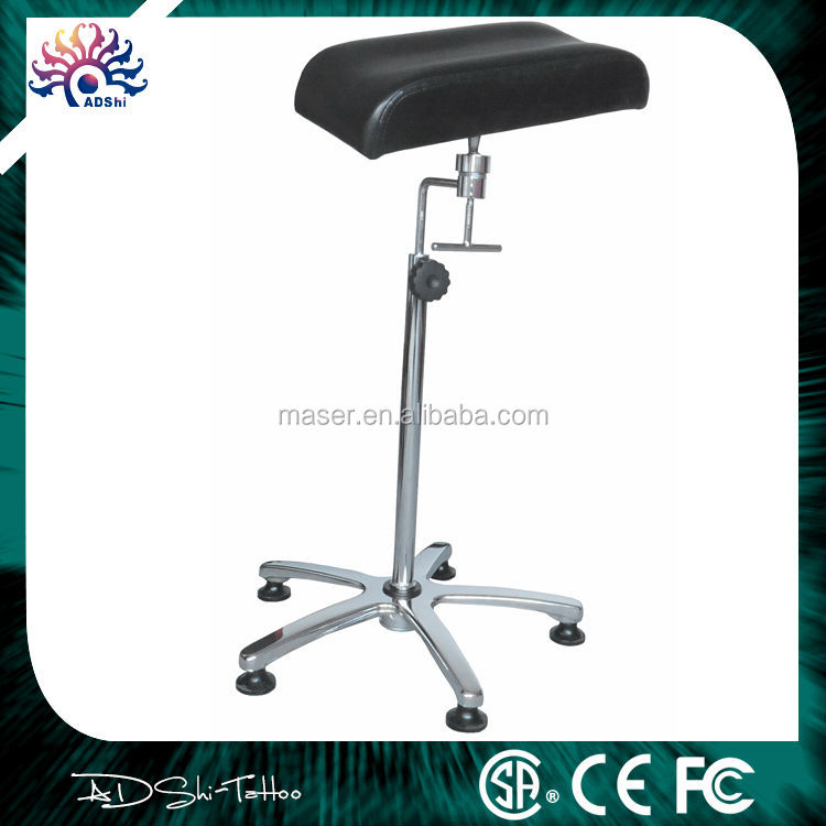 Professional stainless steel stand leather arm rest tattoo for Cheap tattoo chairs uk