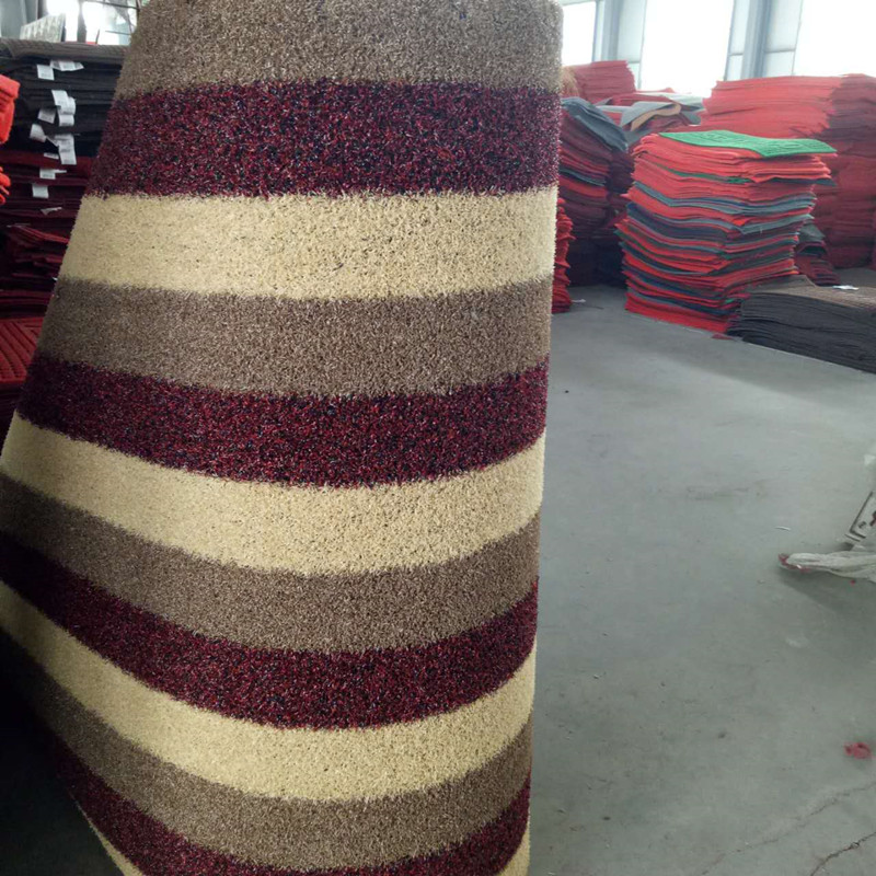Wear Resistance recycled plastic pvc rug outdoor