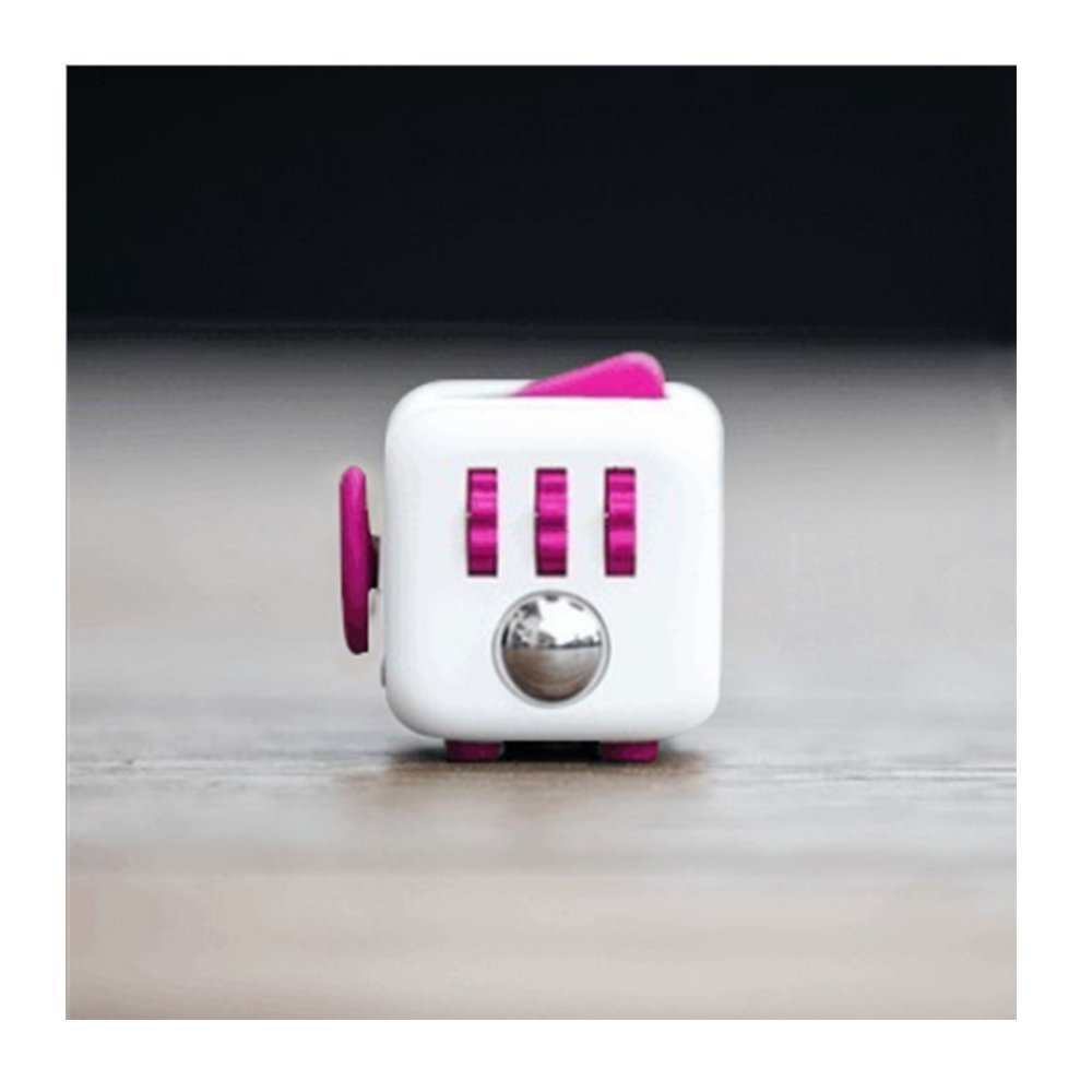 W-Dolphin Fidget Relieves Stress Cube / Anti - Anxiety Decompression Dice for Kids and Adults / Creative Toys Gifts 12 colors