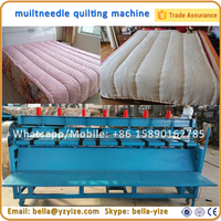 Factory Supply Multineedle Shuttleless Sewing Machine , Spininess Quilting Machine