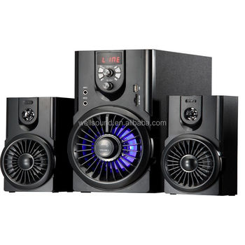 Subwoofer 2.1 Speaker Sound System Home Desktop Audio Stereo BT Speaker Support SD Card USB And With Radio