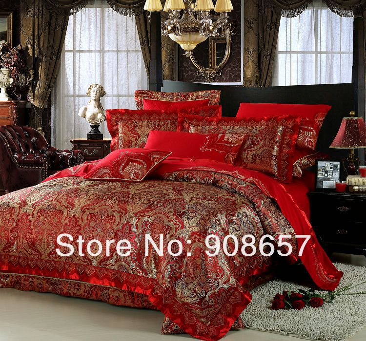 Red And Gold Duvet Cover Sweetgalas