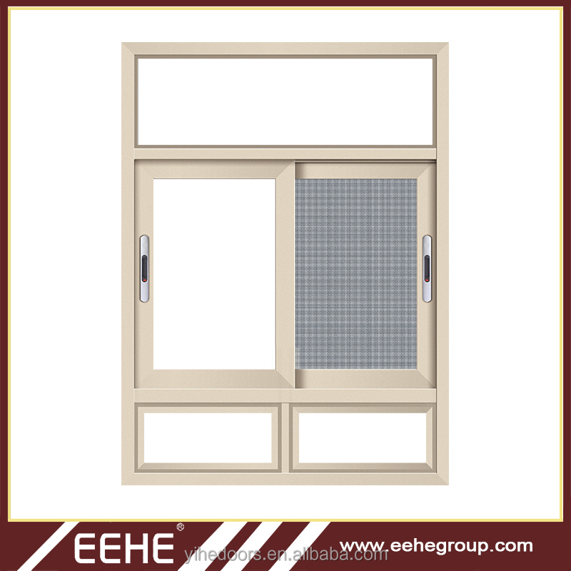 Home room aluminium sliding window with Gemany accessories top hung window
