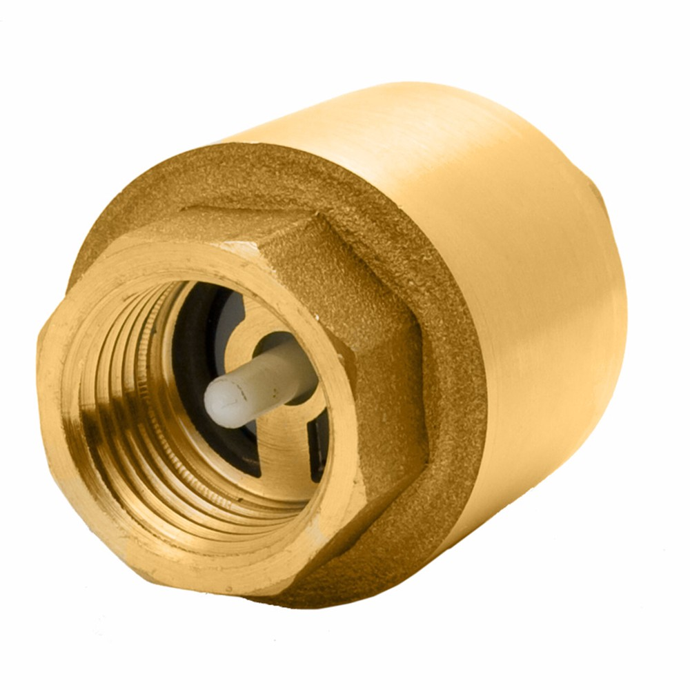 High Quality Pressure Of Spring Loaded Forged Full Brass 10 mm Full Brass Check valve