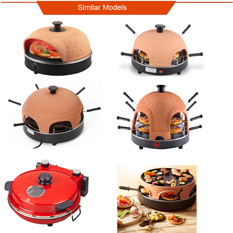 4 persons Price of home pizza oven clay pizza oven for sale