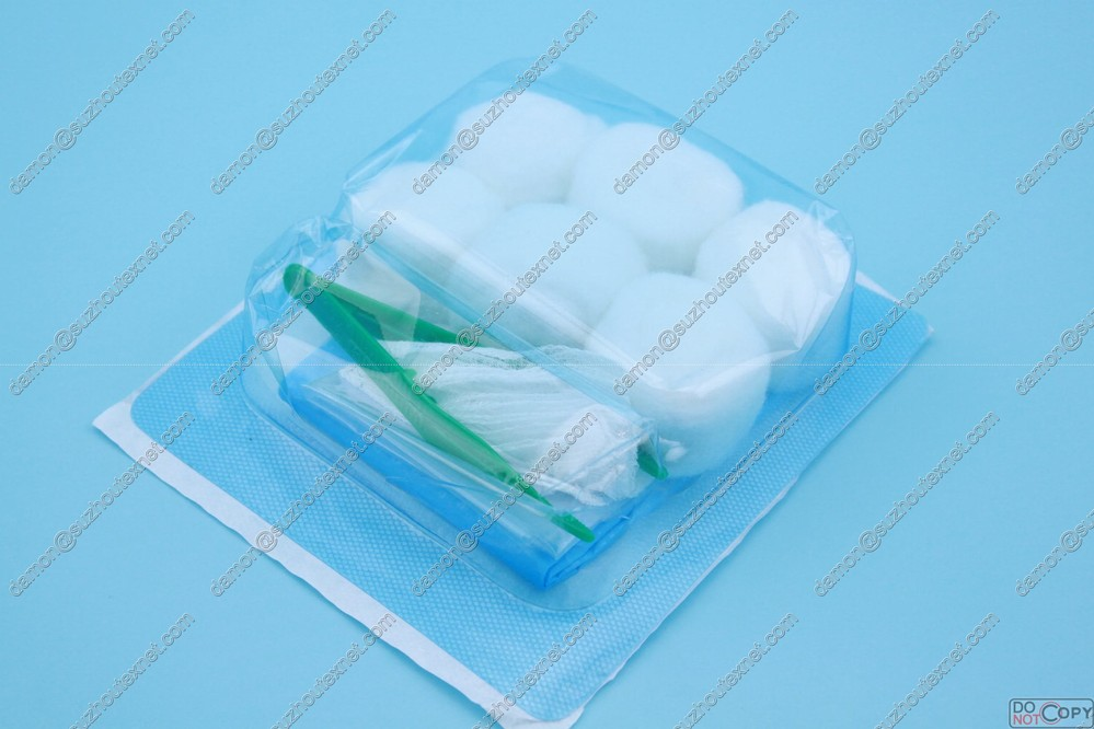CE&ISO Certified Manufactured high quality sterile surgical dressing set with OEM