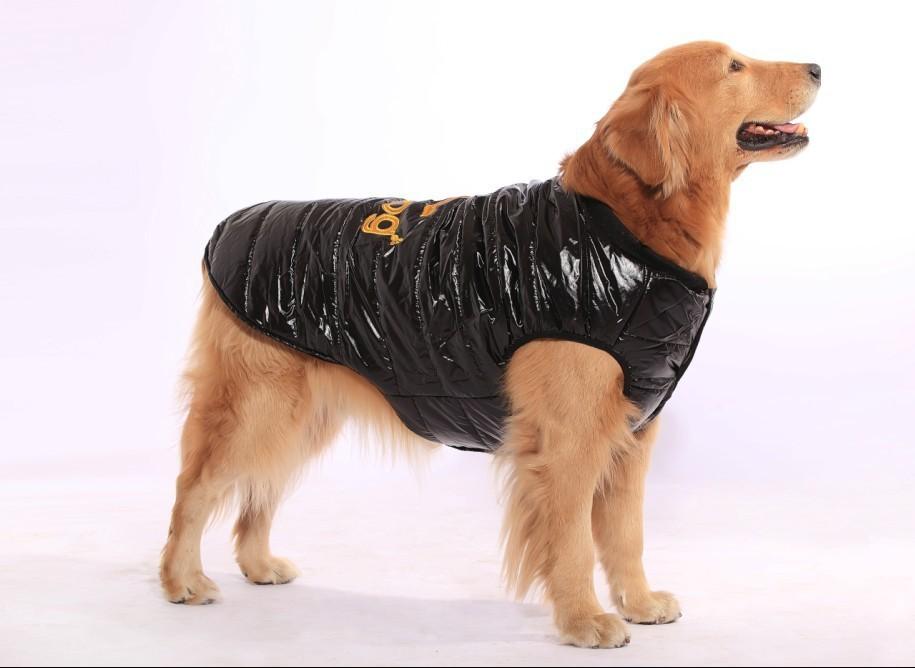Hot models! Adidog large dog winter coat clothes big dogs