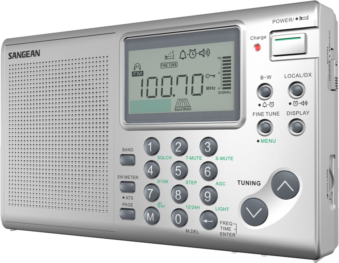 Sangean SG-622 FM//MW//SW 1-10 Compact 12 Band World Receiver LOOK