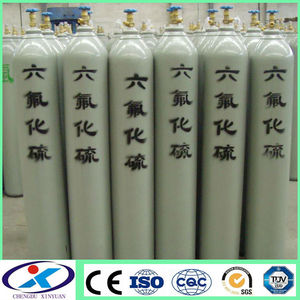 SF6 Sulfur hexafluoride 40L industrial gas