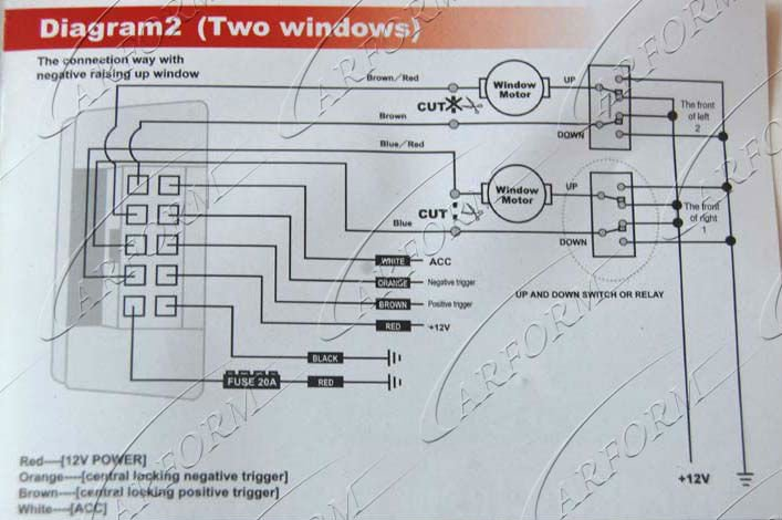 Cool New Design Automatic Car Window Closer With 2 Doors Buy Automatic Wiring Digital Resources Kookcompassionincorg