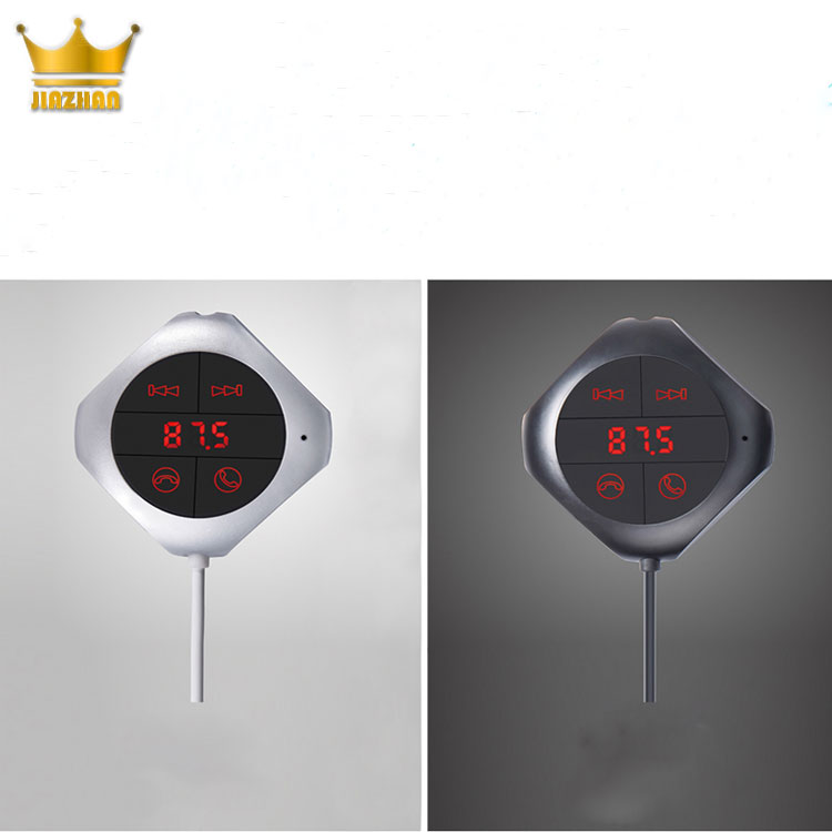 2018 hot Wireless FM Transmitter USB SD Remote LED Car Kit MP3 made in China