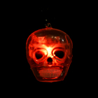 Custom Design Ghost Head Halloween Led Ring, Halloween Finger Toy Props