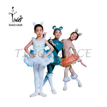Mouse Girl Ballet Dance Costume Dress Carnival Animals Children Costumes