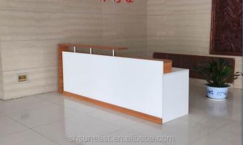 Moderne bureau réception portable conception de la table guichet