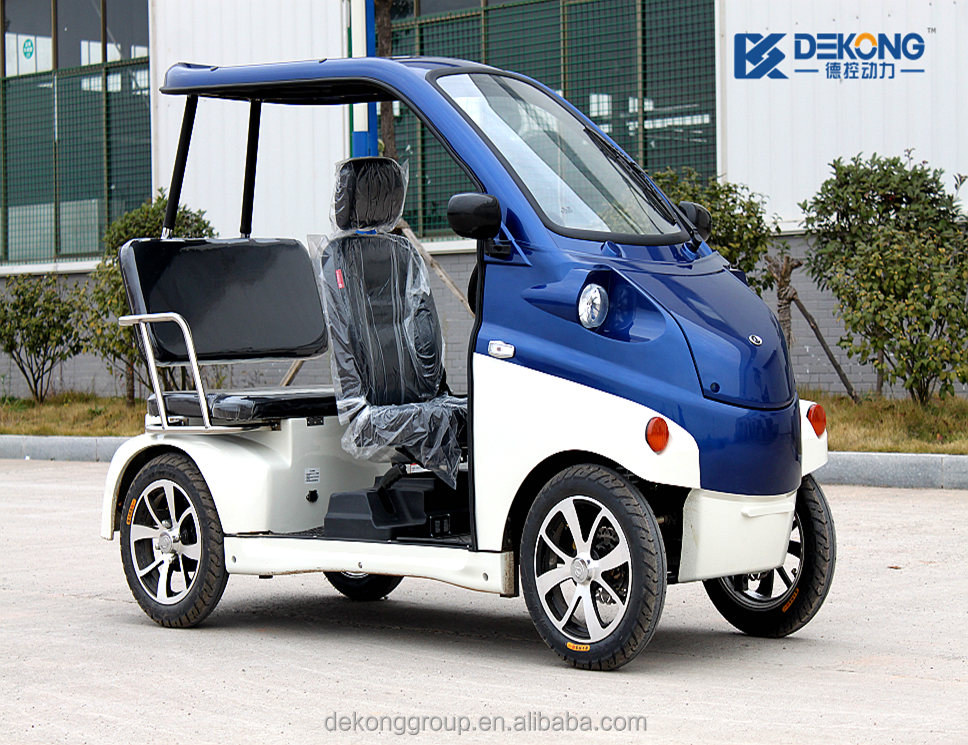 Brand New Street Legal 4 Wheel Mini Electric Scooter Car On Product
