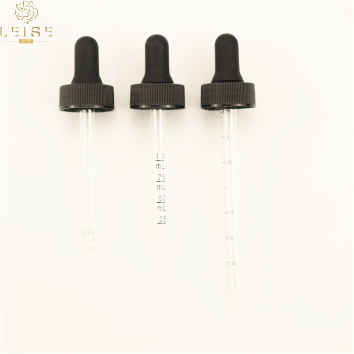 General white rubber suction head of plastic cover for dropper black rubber suction for pipette dropper cosmetic caps sealing
