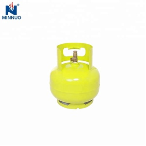 Hot sale 3kg used lpg gas tank with cheap price