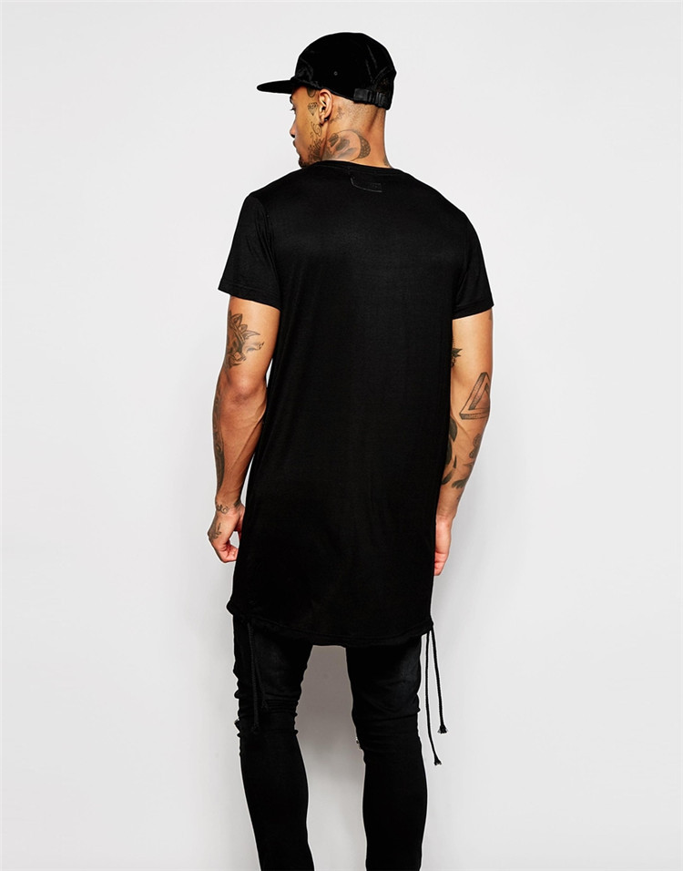 Mens Black Blank T Shirt Wholesale Long T Shirt Blank - Buy Blank ...