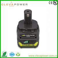 CLEVA 2 Pack 2000mAh Ryobi 18V Lithium Battery