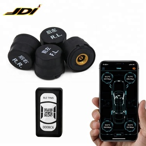 4 external sensors bluetooth car tpms working for android / ios system smartphone TPMS