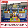 china factory price inflatable cartoon bouncer with air blower