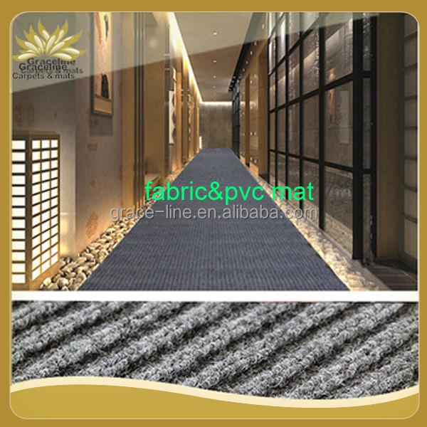 Waterdichte dubbele geribde deurmat voor corridor tapijt product id 60363049387 - Corridor tapijt ...