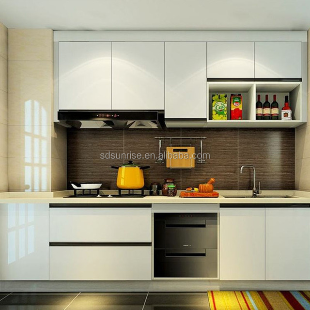 Modern style lacquer door Kitchen cabinets & Buy Cheap China modern lacquer door Products Find China modern ...