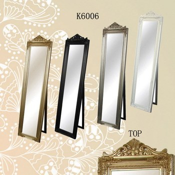 wood frame stand mirror full length mirror frame - Wood Frame Full Length Mirror