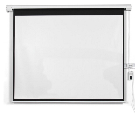 100 inch 200 inch projector screen | large outdoor projection screens | 1:1 4:3 16:9 electric screen for Led mini projector