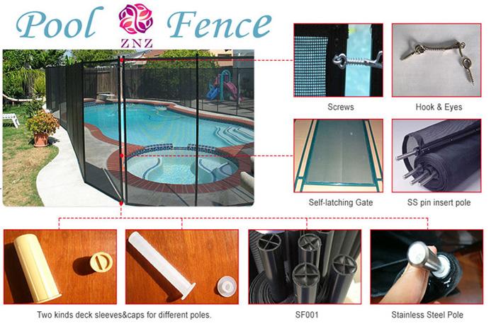 ZNZ Veiligheid Pvc Gecoat Zwembad Pvc Fencing