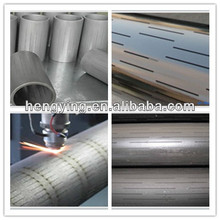 API standard slotted liner/slotted sieve tube/staggered slotted liner
