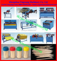 full production line bamboo toothpick making machine