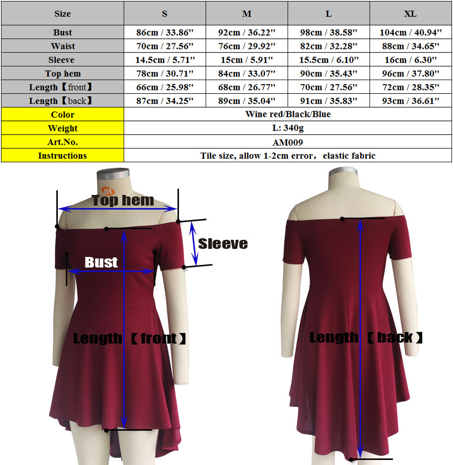 Casual Short Sleeve Tight Waist Women Party Wear One Piece Cocktail Boat Neck Tail Dresses